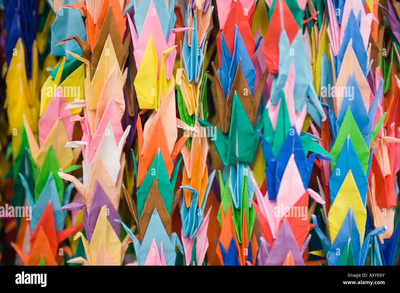 A Thousand Paper Cranes Hiroshima Peace Park Hiroshima