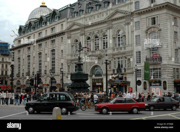 Criterion Building Piccadilly Circus City Of Westminster Stock 9733162 - Alamy