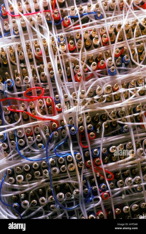 small resolution of telecommunication wiring harness stock image