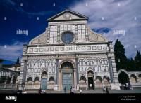 ITALY Tuscany Florence Santa Maria Novella church exterior ...