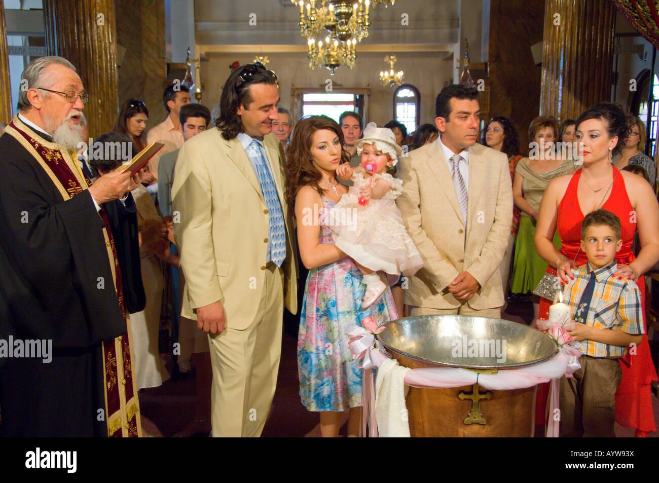 infant baptism or christening