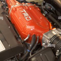 Toyota Yaris Trd Supercharger Kit Sportivo Review Stock Photos Images Alamy Racing Development On A Corolla Engine Image