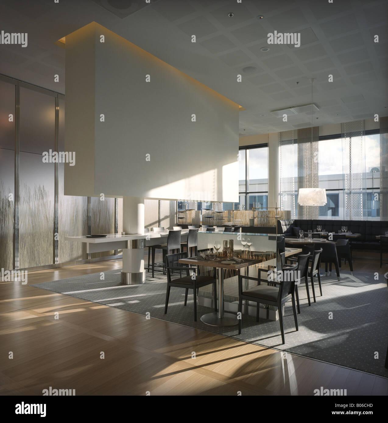 Best Kitchen Gallery: Modern Restaurant Lounge Interior Design Architecture Decoration of Modern Restaurant Interior Design on rachelxblog.com