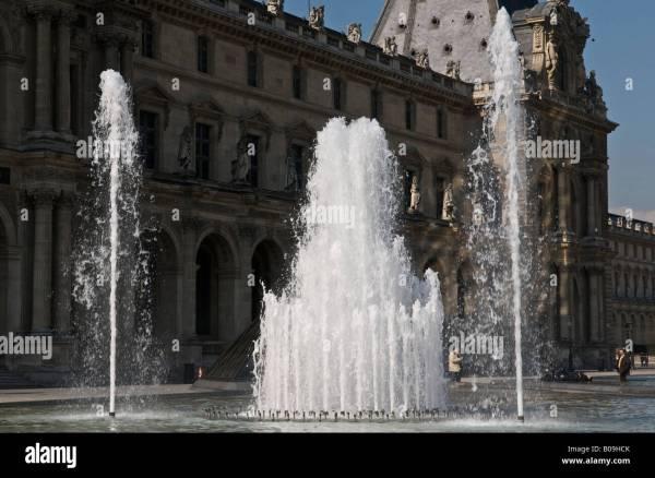 Palais Du Louvre Stock & - Alamy