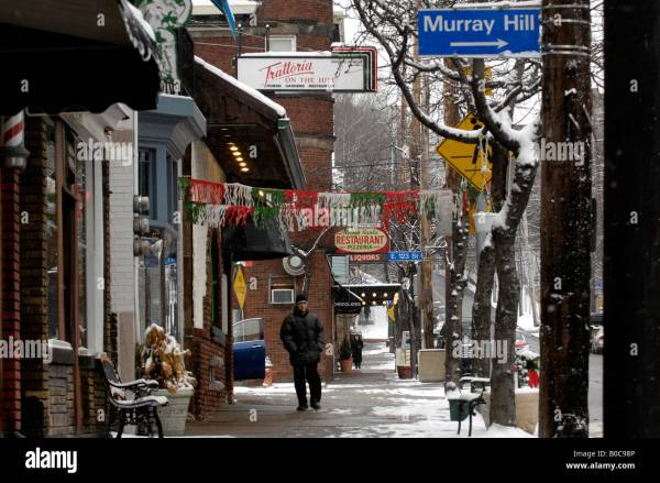 Mayfield Road Little Italy Cleveland Ohio Usa Stock Royalty Free 17481094 - Alamy