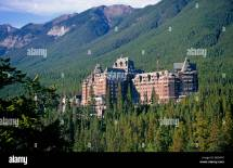 Overview Of Massive And Historic Banff Springs