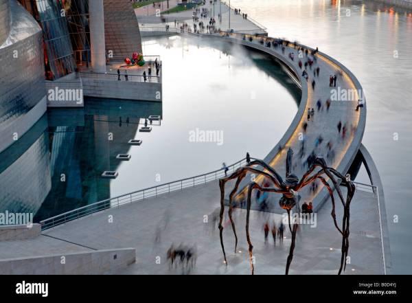 Guggenheim Museum Of Contemporary Art Bilbao Bizkaia