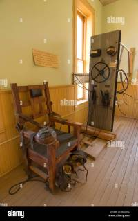 An electric chair is part of the collection at the Santa ...