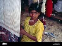Jaipur India Carpet Factory Child Labour Stock Photo ...