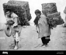 Peasant Carrying Hay Stock &
