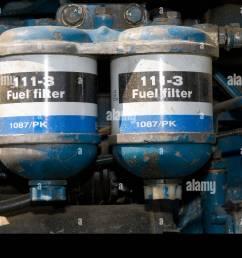 diesel fuel filter stock photos u0026 diesel fuel filter stock imagesfuel filters on a ford [ 1300 x 953 Pixel ]