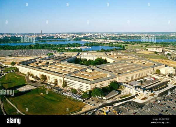 Pentagon Washington . America Stock