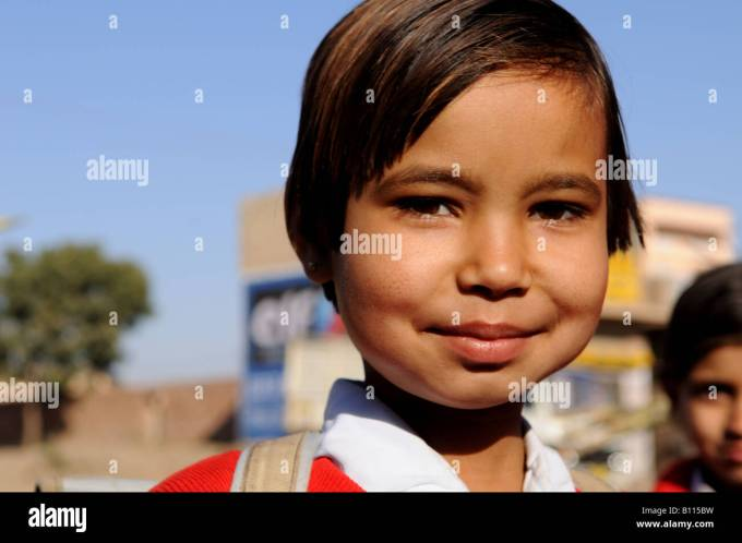indian school girls hair style stock photos & indian school