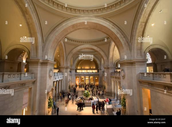 Entrance Hall Metropolitan Museum Of Art Avenue