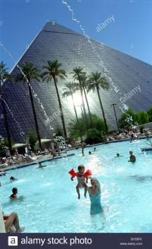 Luxor Hotel Las Vegas Pool Stock &