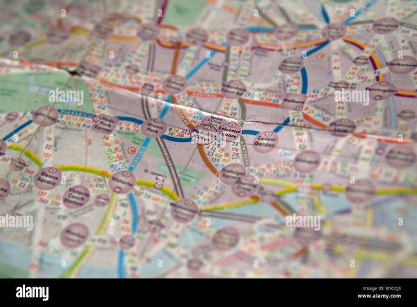 Color Coded Map Stock & - Alamy