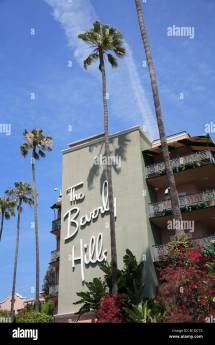 Beverly Hills Hotel Sunset Boulevard Los