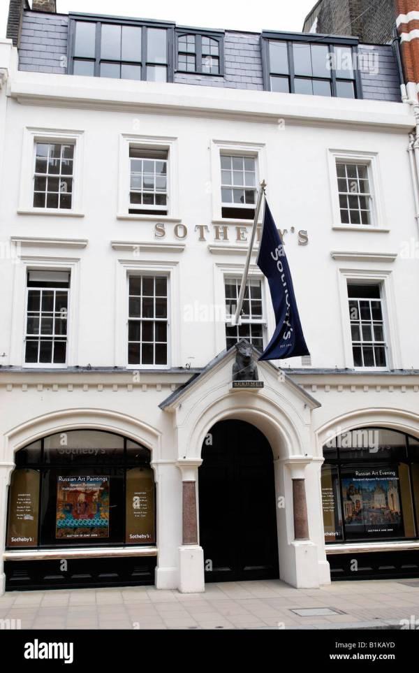 Sothebys Bond Street London Stock &