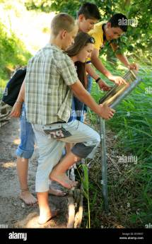 Kids Reading Information Panel Barefoot Path Bad