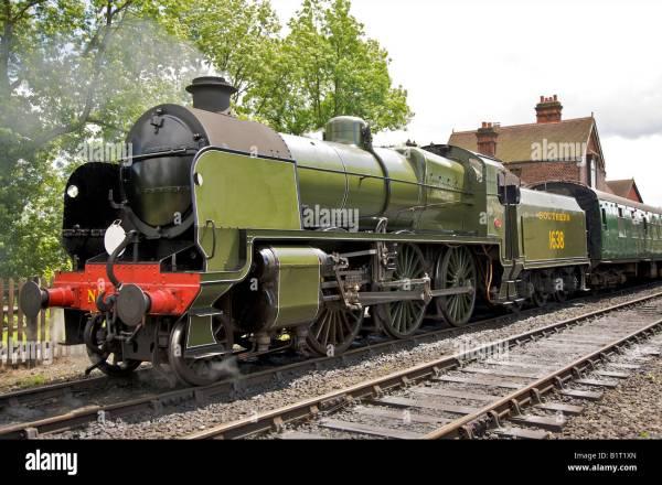 Southern Railway U Class Steam Locomotive Stock