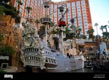 Full Size Galleon Treasure Island Hotel And Casino In