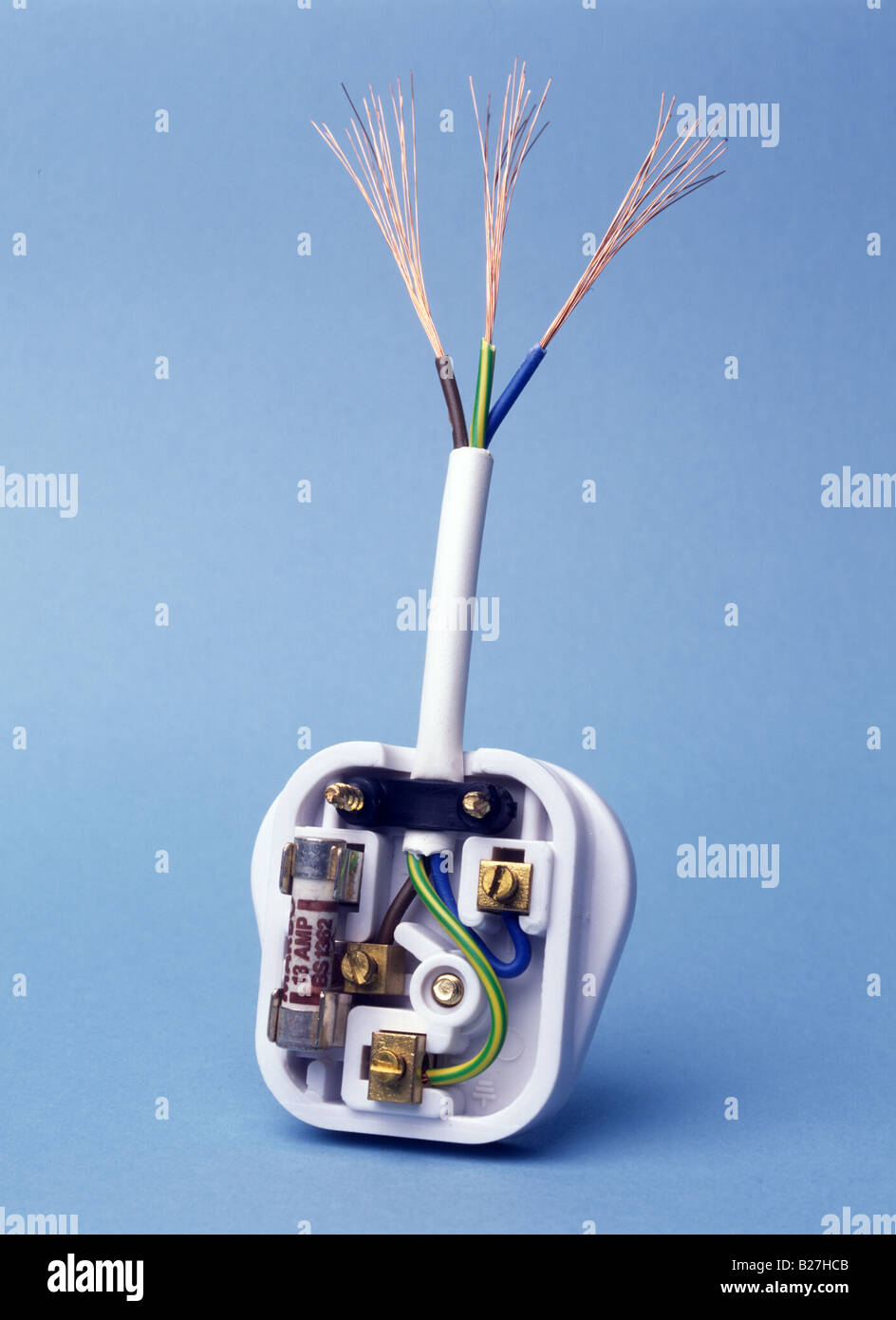 Wiring Plug Green Blue Brown