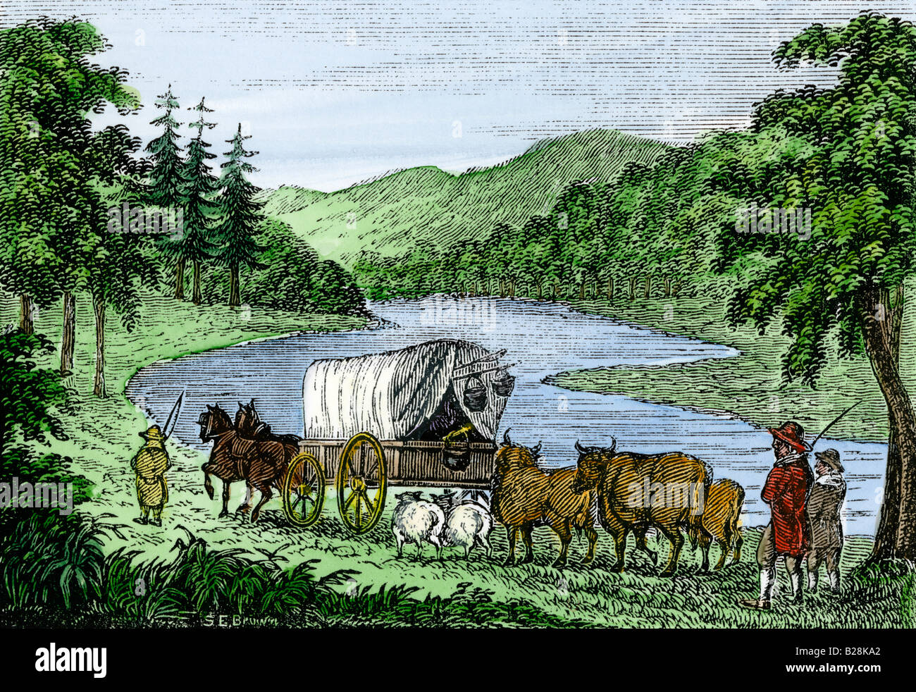 Horse Drawn Wagon S Stock Photos Amp Horse Drawn Wagon S Stock Images