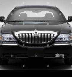 2008 lincoln town car signature limited in black low wide front stock image [ 1300 x 956 Pixel ]