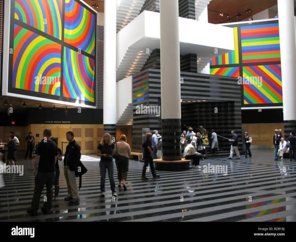 Sfmoma Sf Moma Museum Interior San Francisco Stock