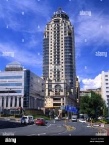 Michelangelo Towers In Sandton Johannesburg Stock