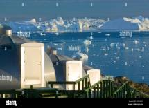 Igloos In Grounds Of Hotel Arctic Ilulissat