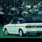 Volkswagen Golf Mk1 Gti Convertible Of 1989 Stock Photo Alamy