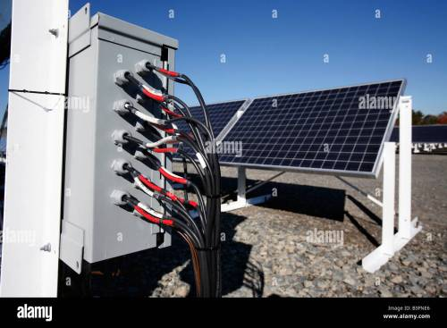 small resolution of electrical wires enter a junction box on the site of a solar powered wiring box wiring electrical junction box electrical solar electric