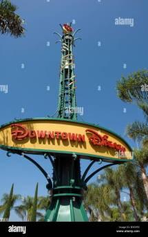 Sign Welcome to Anaheim Disneyland Resort