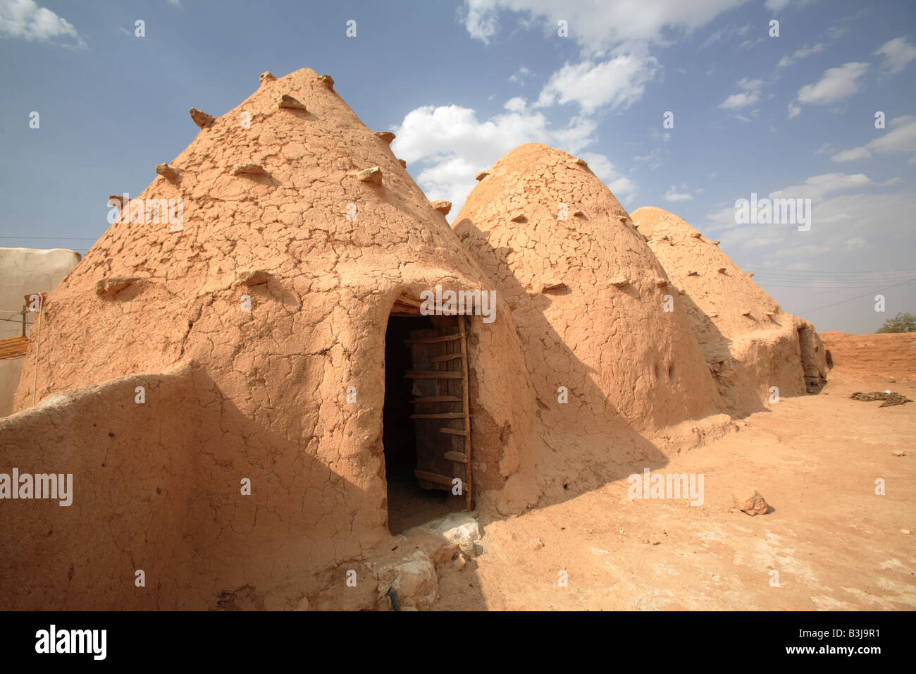 Traditional Beehive Houses In Sarouj Village Hama Syria