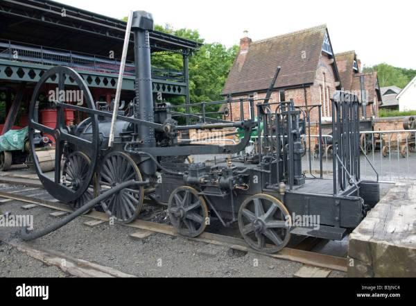 Steam Locomotive Stock &