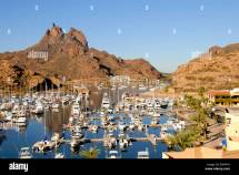 Mexico State Of Sonora San Carlos. Harbor & Port Area