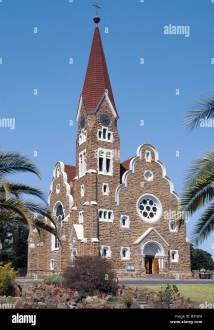 Namibia Windhoek Windhoek. Lutheran Christuskirche