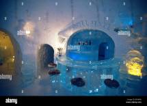 Bar Of Alta Ice Igloo Hotel Arctic Circle