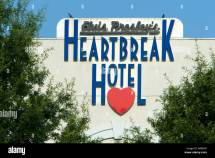 Heartbreak Hotel Memphis Tennessee Usa Stock