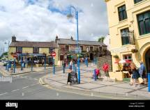 Town Centre Saundersfoot Pembrokeshire Wales United