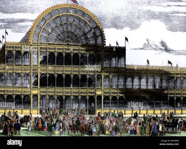Crystal Palace Exhibition 1851 London