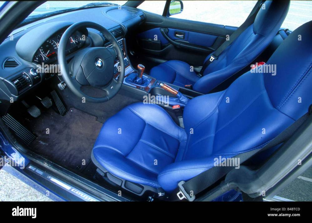 medium resolution of car bmw z3 coupe roadster model year 2002 interior view