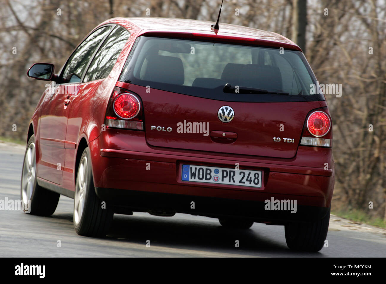 Car Vw Volkswagen Polo 1 4 Tdi Model Year 2005 Ruby