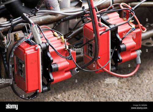small resolution of ignition spark system on a top fuel dragster transformer high powered magneto drag race racing dragster car performance 44 amp
