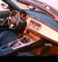 car bmw z4 3 0i roadster convertible 231 ps h chstgeschwindigkeit 250 km h model year 2003 silver anthracite interior vi [ 1300 x 956 Pixel ]