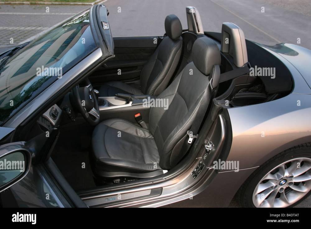 medium resolution of car bmw z4 3 0i roadster convertible 231 ps h chstgeschwindigkeit 250 km h model year 2003 silver anthracite interior vi