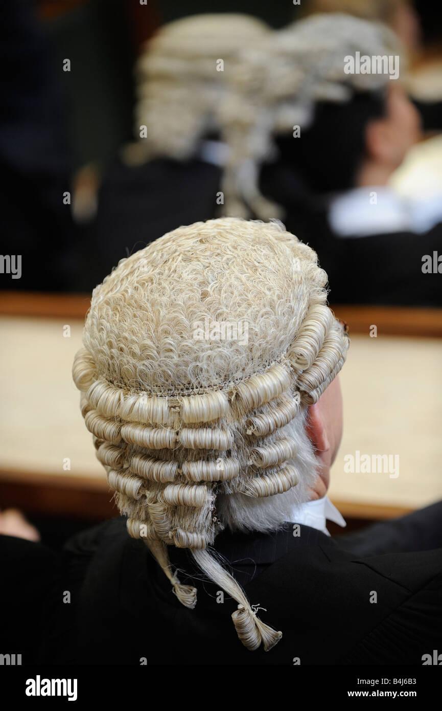 lawyer wig stock photos