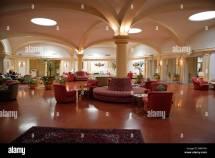 Palm Court Lounge Hotel Phoenicia Valletta Malta Stock