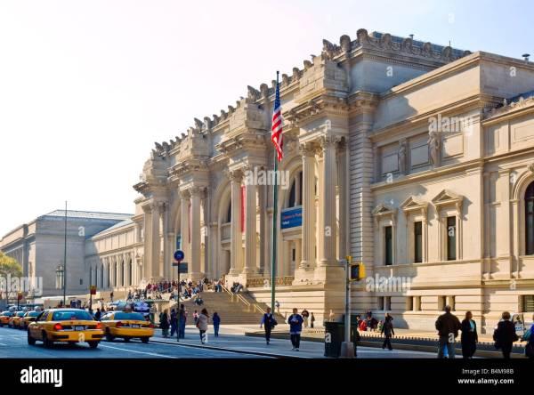 York City. Metropolitan Museum Of Art. Main